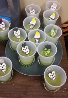 Scary! Tropical flavors for Halloween Party
