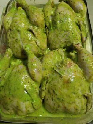 Marinated Cornish Hens. LPC