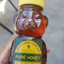 Local Honey from Austin Honey Company. LPC